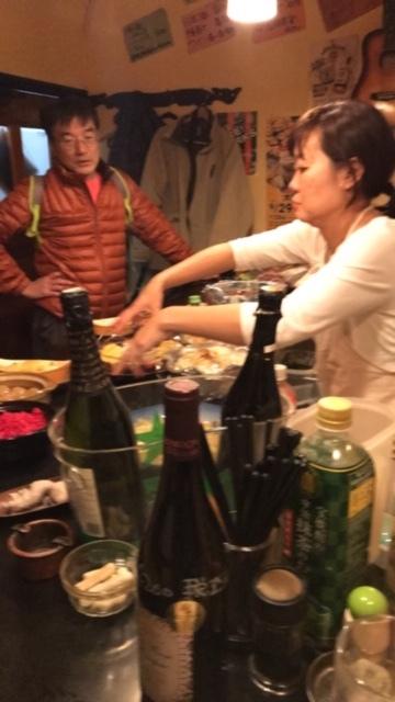 ミキさん、菜BAR KABOSS卒業12・29_c0014967_17503041.jpg