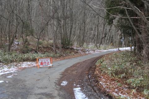 山の道路状況を見に行ってみた(高清水山の場合)_f0075075_15003103.jpg