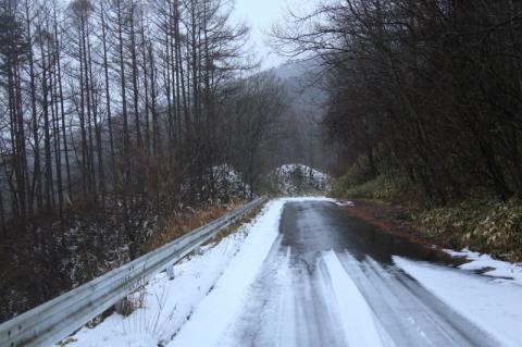 山の道路状況を見に行ってみた(耳切山の場合)_f0075075_16232540.jpg