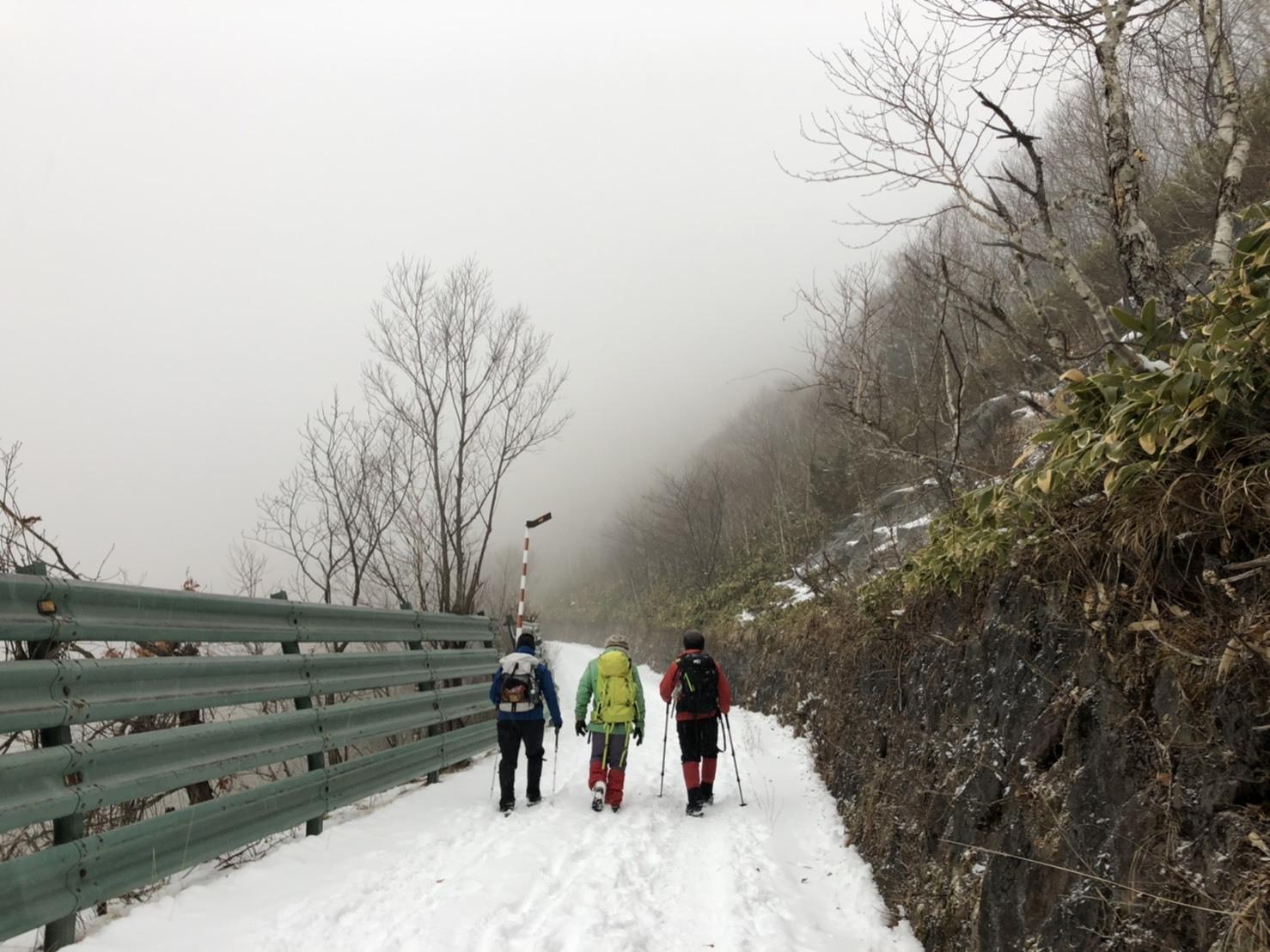 2019年山納めの紋別岳、2019.12.30ー同行者からの写真ー_f0138096_23561776.jpg