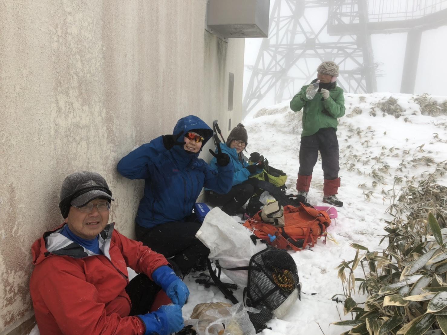 2019年山納めの紋別岳、2019.12.30ー同行者からの写真ー_f0138096_23562065.jpg