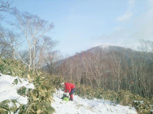 2019年山納めの紋別岳、2019.12.30ー同行者からの写真ー_f0138096_23581705.jpg