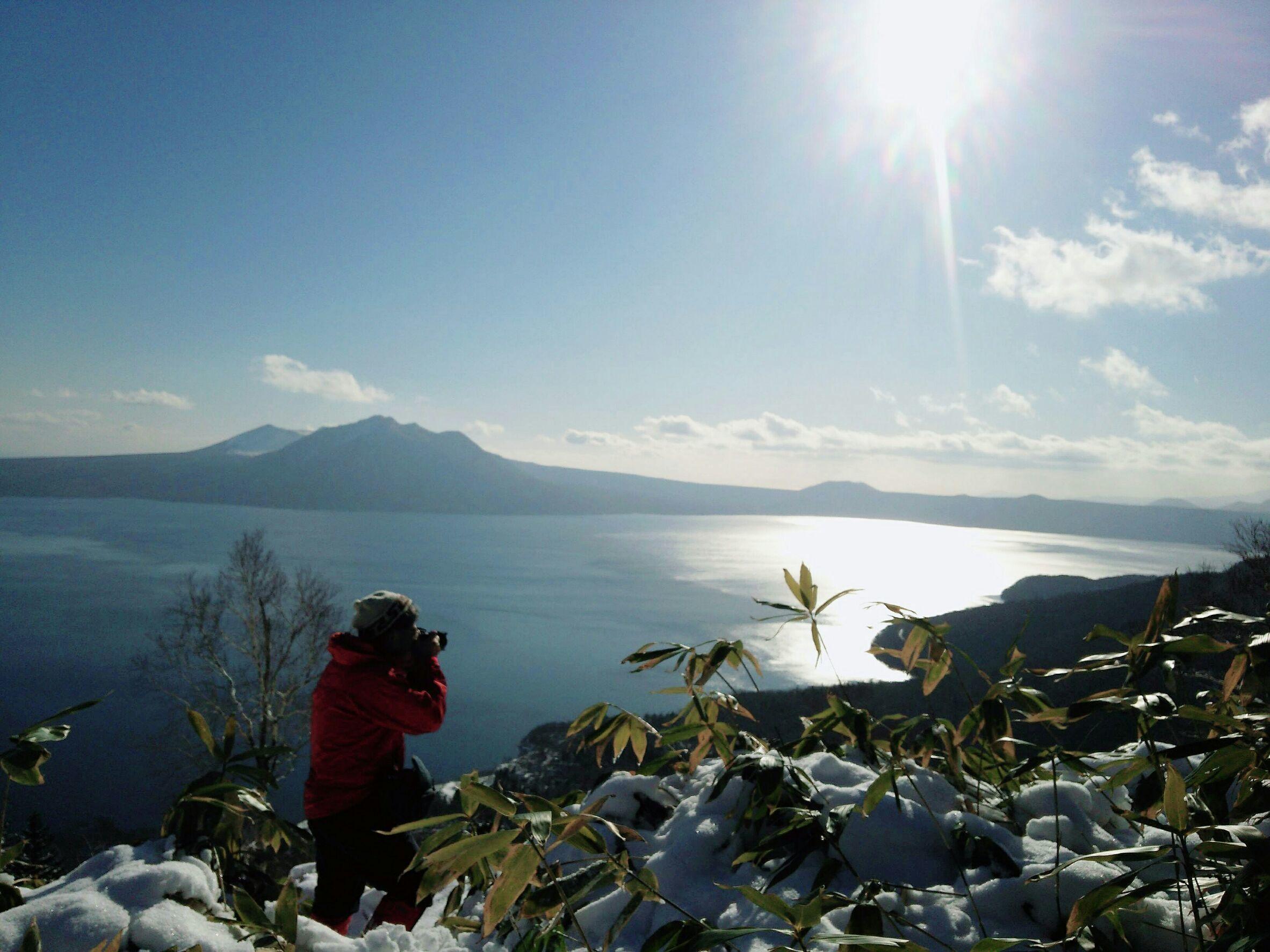 2019年山納めの紋別岳、2019.12.30ー同行者からの写真ー_f0138096_23582464.jpg
