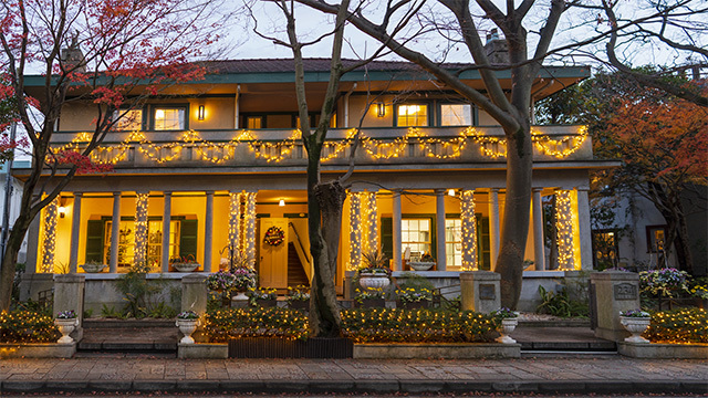山手西洋館・世界のクリスマス2019 山手234番館 ベーリック・ホール_b0145398_23102682.jpg