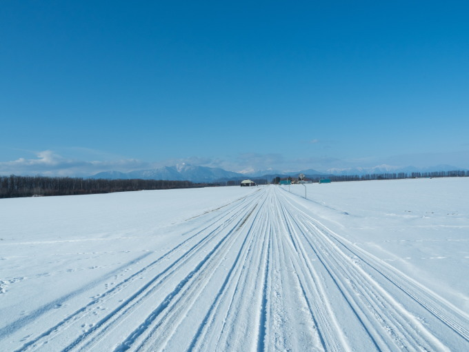 師走の中札内村の農村風景・・今年はちょっと雪が少ない?_f0276498_13541516.jpg