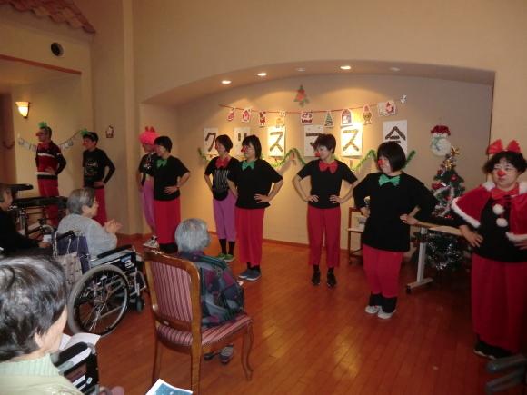 クリスマス会開催_e0163042_14281954.jpg