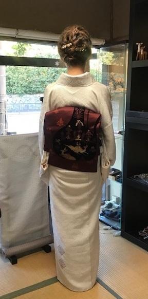 総絞りの着物のお客様(2)川島帯・皆さま良いお年を。_f0181251_18062719.jpg