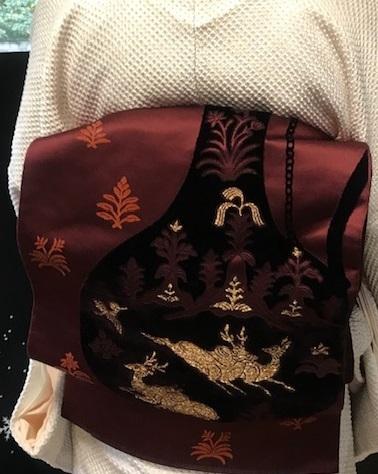 総絞りの着物のお客様(2)川島帯・皆さま良いお年を。_f0181251_18070649.jpg