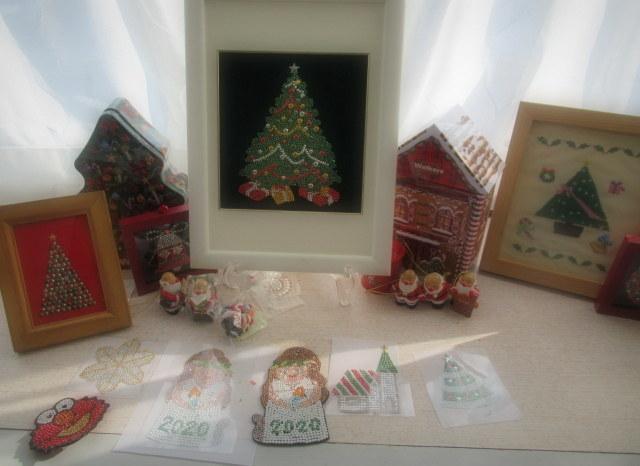 年の瀬 * メタルビーズ教室で作るクリスマスと干支のモチーフ♪_f0236260_15024598.jpg