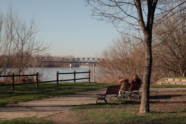 真冬のポー川の風景です_d0047461_14122074.jpg