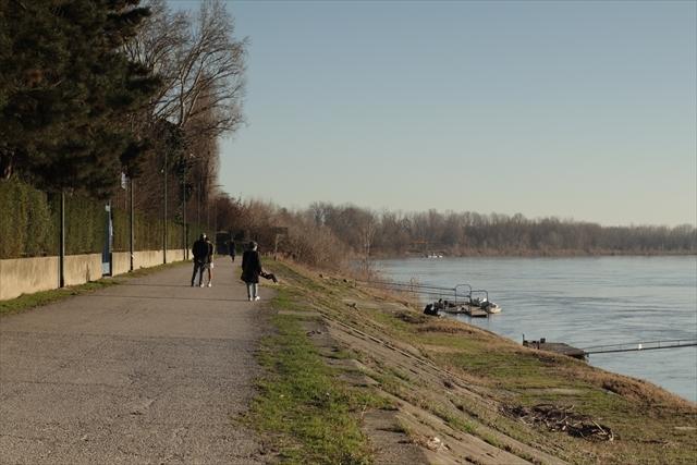 真冬のポー川の風景です_d0047461_14133393.jpg