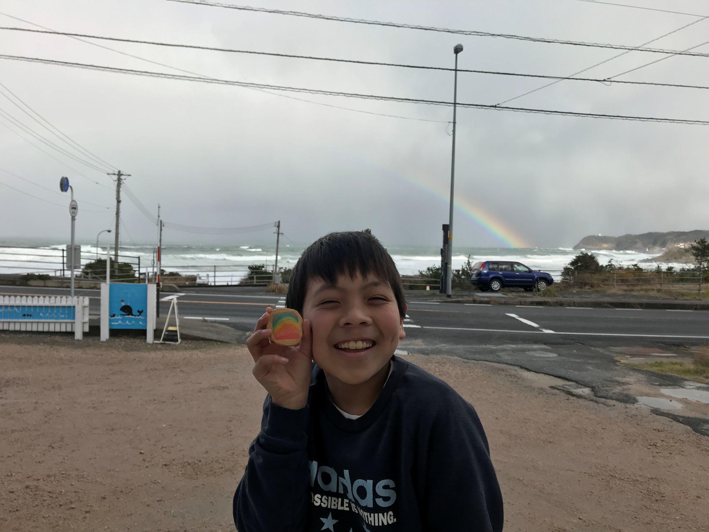 大みそか、きれいな虹が見えました。_f0009169_19224354.jpg
