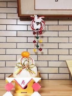 夜半桜さんの飛翔鶴とつるしつまみ飾り_c0122475_13322595.jpeg