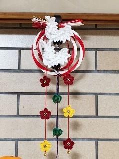 夜半桜さんの飛翔鶴とつるしつまみ飾り_c0122475_13322967.jpeg