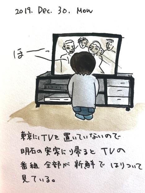 テレビに貼りつく_f0072976_14275647.jpeg
