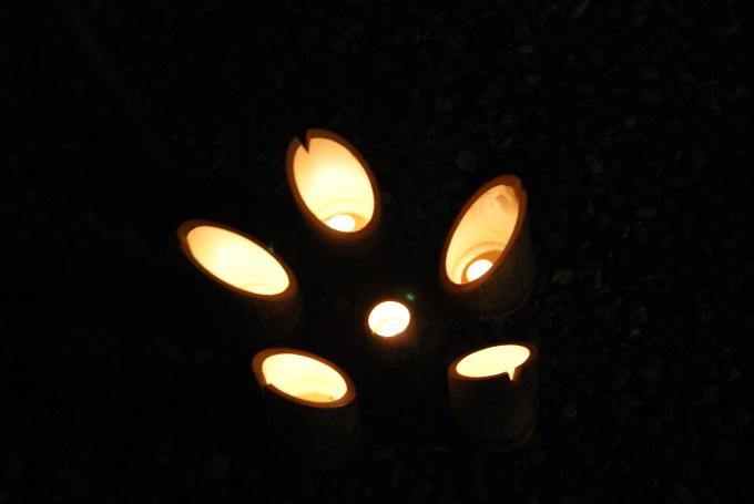 明けましておめでとうございます。竹宵は今晩だけです。R1.1.1_f0191383_23571343.jpg
