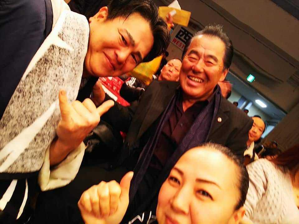 村上塾長のお弟子さんの応援に後楽園ホールへ。_c0186691_16565725.jpg