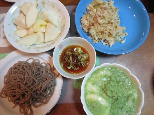 朝:おせち「博多」、お雑煮&寿司セット 昼:ますの寿司、寿司&餅 夜:ますの寿司、寿司&餅_c0075701_20512109.jpg