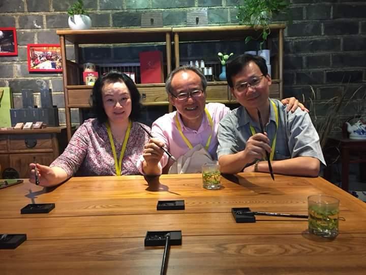 南京で日本人一人の書道ワークショップ_d0085401_15595474.jpg