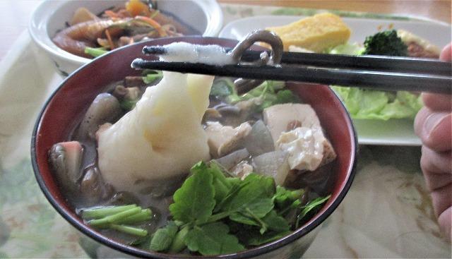 お食い初めは 雑煮_b0163804_12062170.jpg