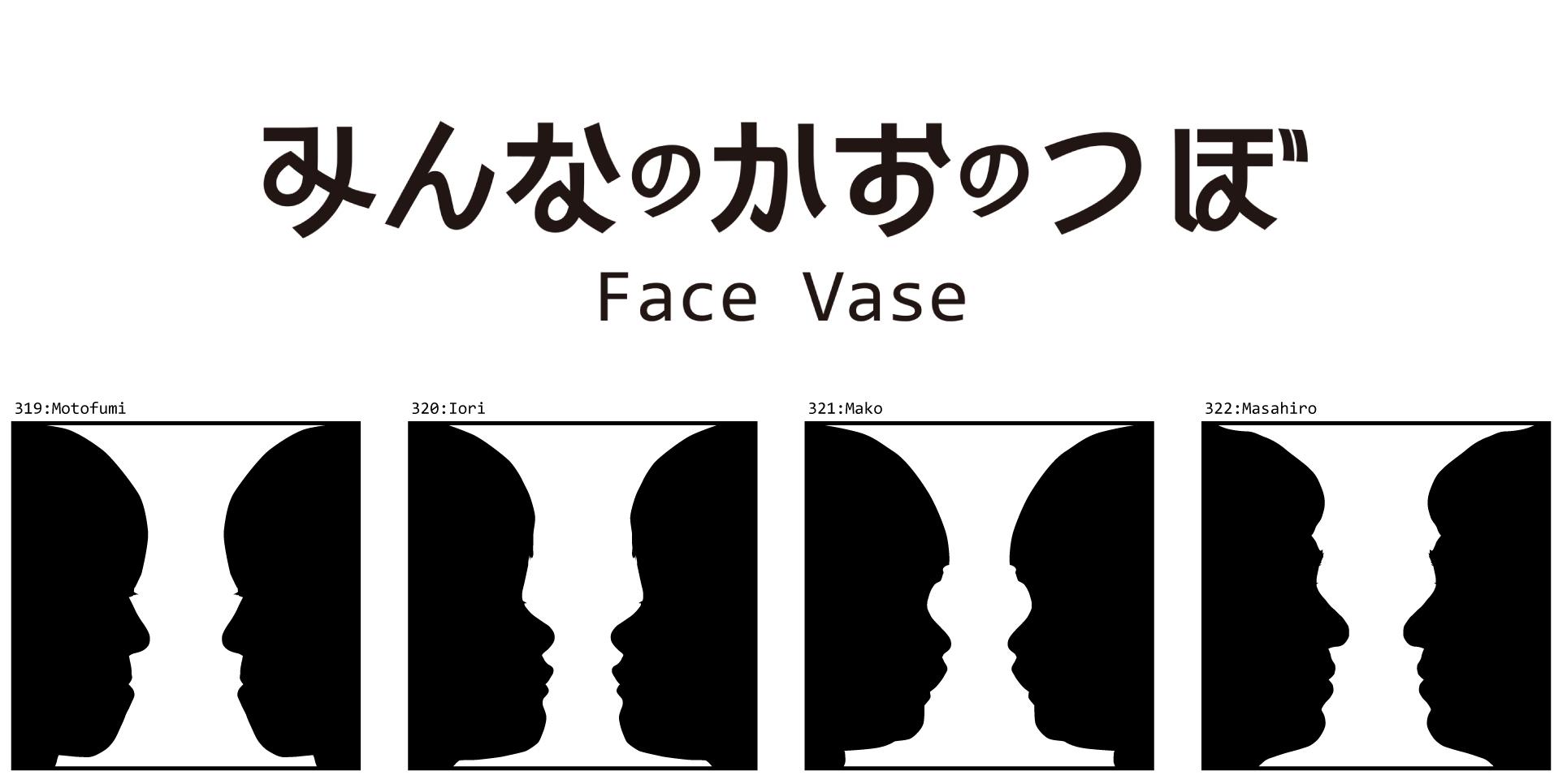 みんなのかおのつぼ / Face Vase:319 Motofumi -> 327 Riku_d0018646_19264338.jpg