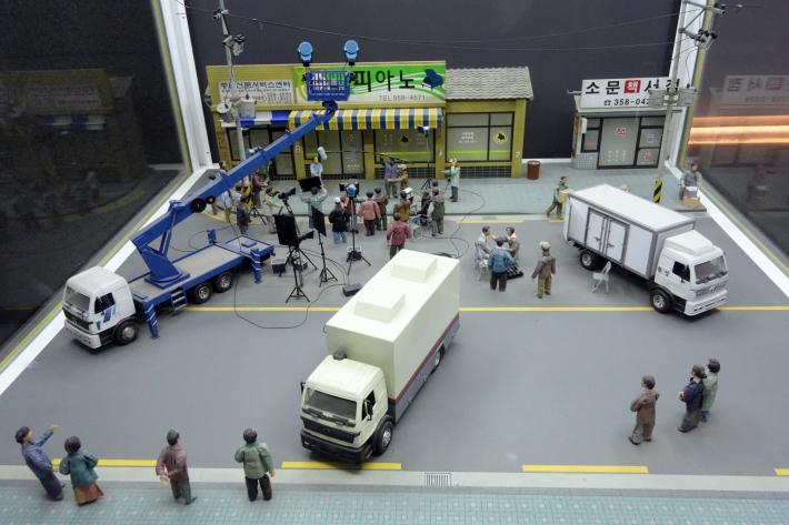 韓国映画博物館 KOREAN FILM MUSEUM 한국영화박물관 と MBC WORLD 上岩DMC(디지털미디어시티 デジタルメディアシティ) 2019年12月 ソウルの旅_f0117059_19303409.jpg
