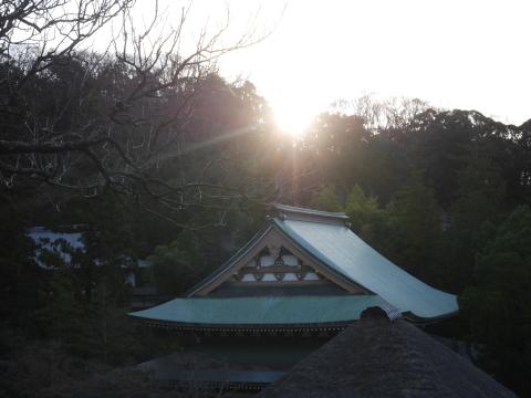 謹賀新年、初日の出は龍隠庵境内で2020・1・1_c0014967_09231354.jpg