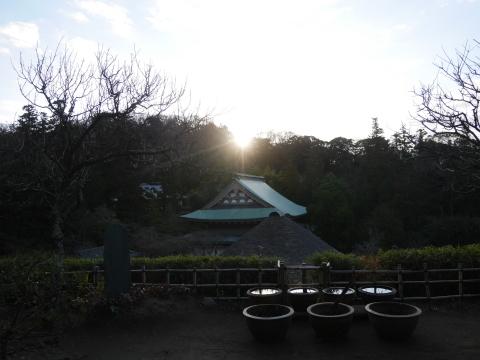 謹賀新年、初日の出は龍隠庵境内で2020・1・1_c0014967_09382133.jpg