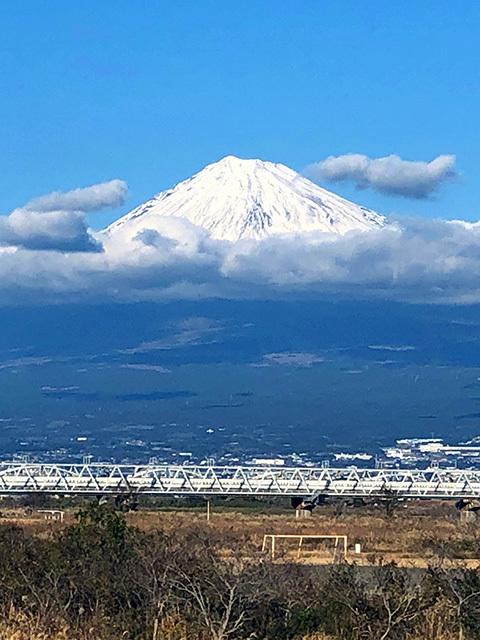 富士山と新幹線_c0053520_19443632.jpg