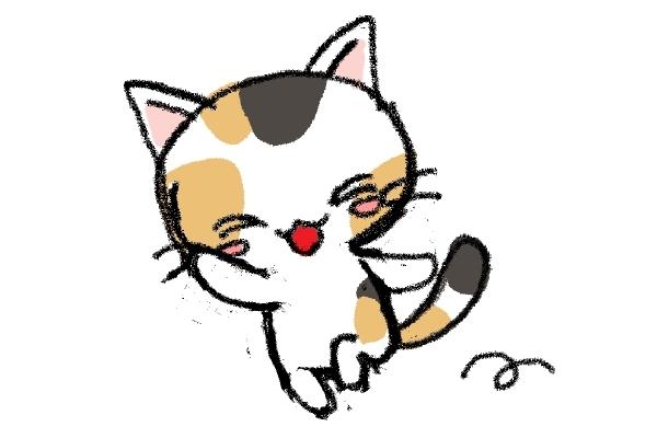 猫のイラスト_a0040621_13331670.jpg