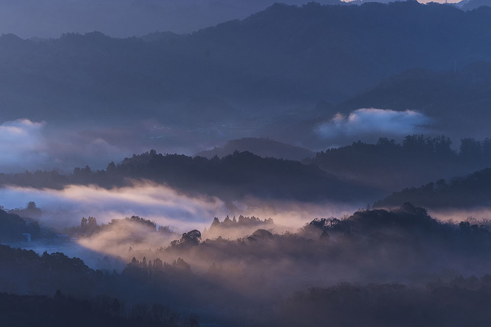 九十九谷展望公園からの日の出_f0324026_21501624.jpg