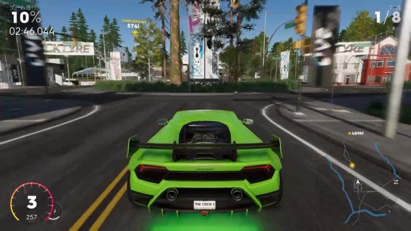 ゲーム「THE CREW2 ハイパーカーレースNEW YORKのショートカット解説」_b0362459_12440840.jpg