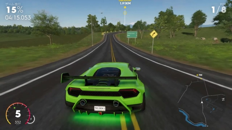 ゲーム「THE CREW2 ハイパーカーレースNEW YORKのショートカット解説」_b0362459_12455226.jpg