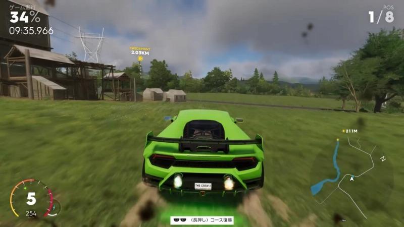 ゲーム「THE CREW2 ハイパーカーレースNEW YORKのショートカット解説」_b0362459_12540714.jpg