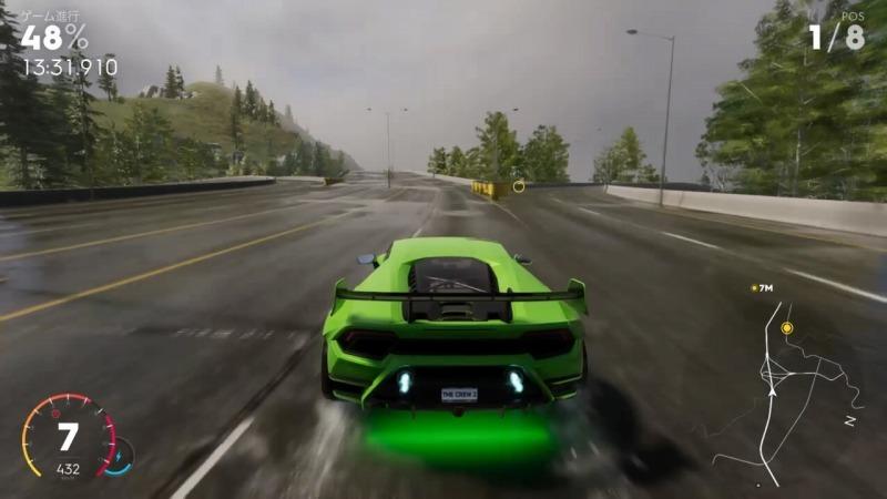 ゲーム「THE CREW2 ハイパーカーレースNEW YORKのショートカット解説」_b0362459_13001515.jpg
