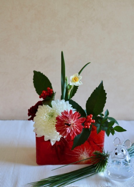 2020年もお家にお花を飾りませんか✨_c0128489_22333699.jpg