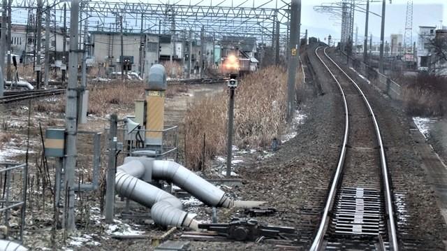 青森駅は還暦を迎えました。そして、大改装中です。青い森鉄道と雪景色、雪の中を激走する貨物列車とモーリーくん_d0181492_23454815.jpg