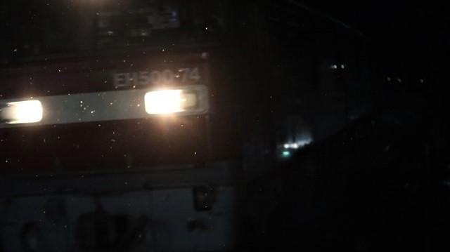 青い森鉄道に可愛い電車が登場「11匹のねこちゃん」列車は可愛過ぎます。冠雪の「岩木山」_d0181492_23550162.jpg