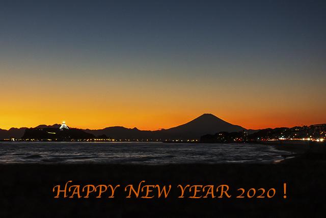 12月の七里ヶ浜海岸からの夕景_b0145398_22572800.jpg