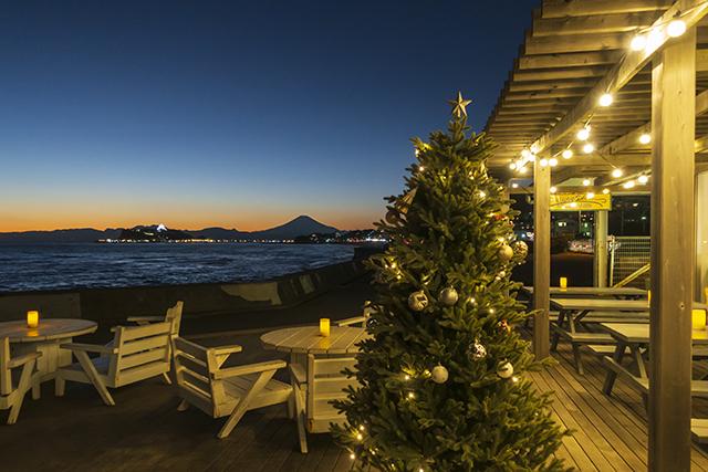 12月の七里ヶ浜海岸からの夕景_b0145398_22592125.jpg