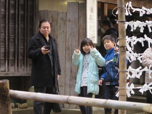 孫娘の高校受験合格祈願で亀岡文殊堂へ_c0075701_16122240.jpg
