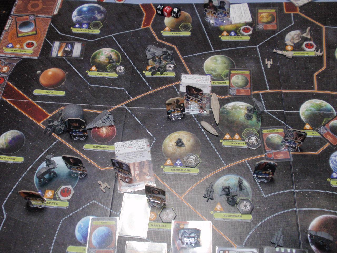 2020年のゲーム初め。FFG「Star Wars:Rebellion」をJr.と対戦_b0162202_1763256.jpg