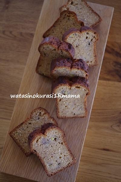 バナナケーキ♪_c0365711_09113743.jpg
