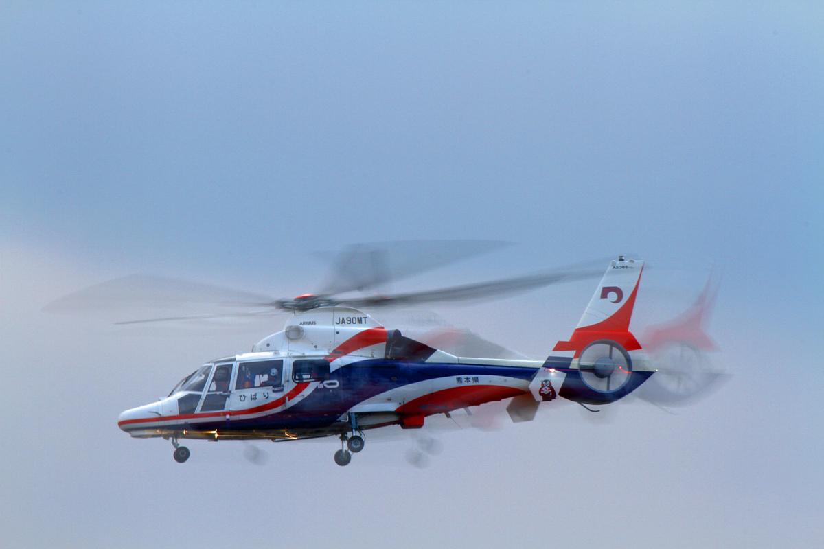 熊本県新防災消防ヘリコプター。_b0044115_09574716.jpg