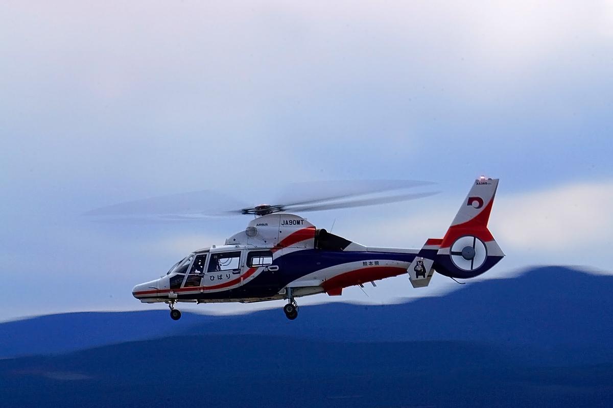 熊本県新防災消防ヘリコプター。_b0044115_09582885.jpg