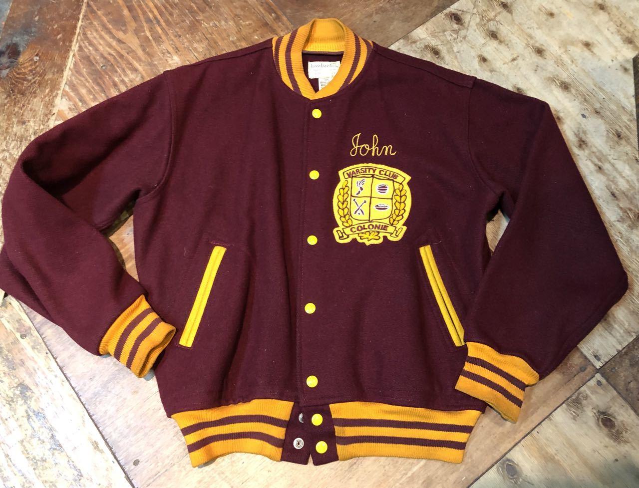 1月4日(土)入荷! 60s フェルト付き Varsity Jacket スタジャン! _c0144020_17454676.jpg