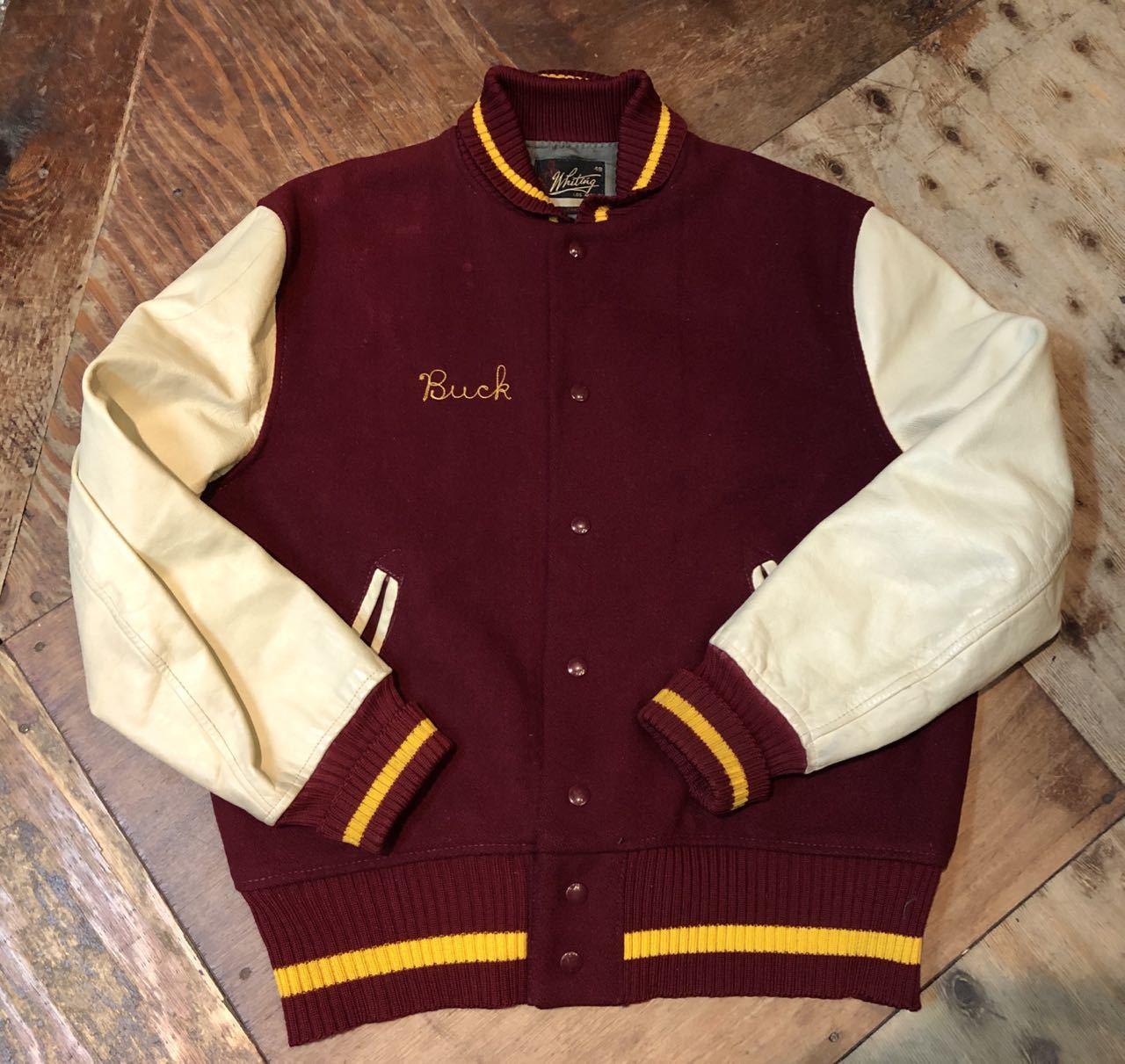 1月4日(土)入荷! 60s WHITING Varsity Jacket スタジャン!_c0144020_17485092.jpg