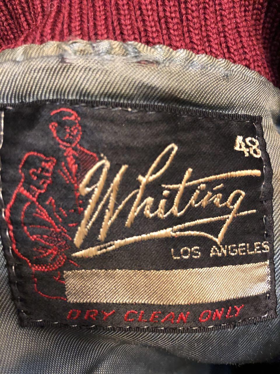 1月4日(土)入荷! 60s WHITING Varsity Jacket スタジャン!_c0144020_17485693.jpg