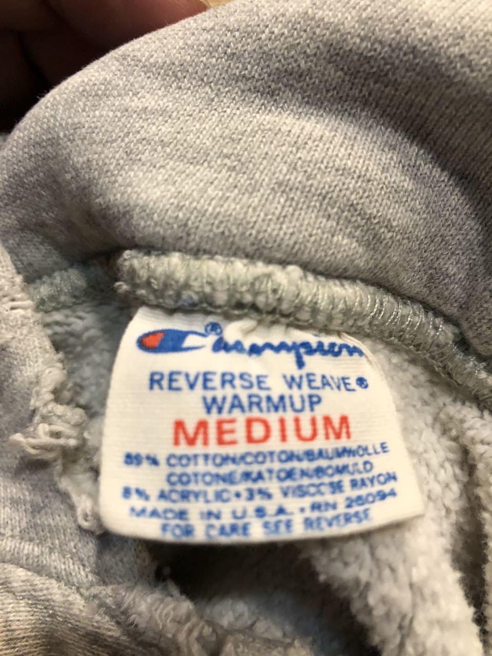 1月4日(土)入荷! 80s トリコタグ 3段プリント champion チャンピオン リバースウィーブ hoodie リバースパーカー_c0144020_17521106.jpg