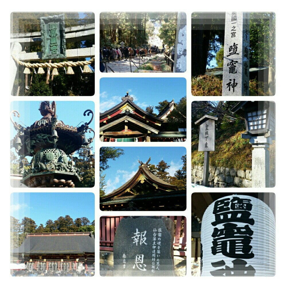 令和最初の初詣!鹽竃神社と日本三景松島♪_d0219834_18371261.jpg